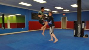 Dauntless MMA Flying Knee